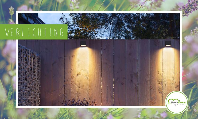 Zet jouw tuin in de spotlights