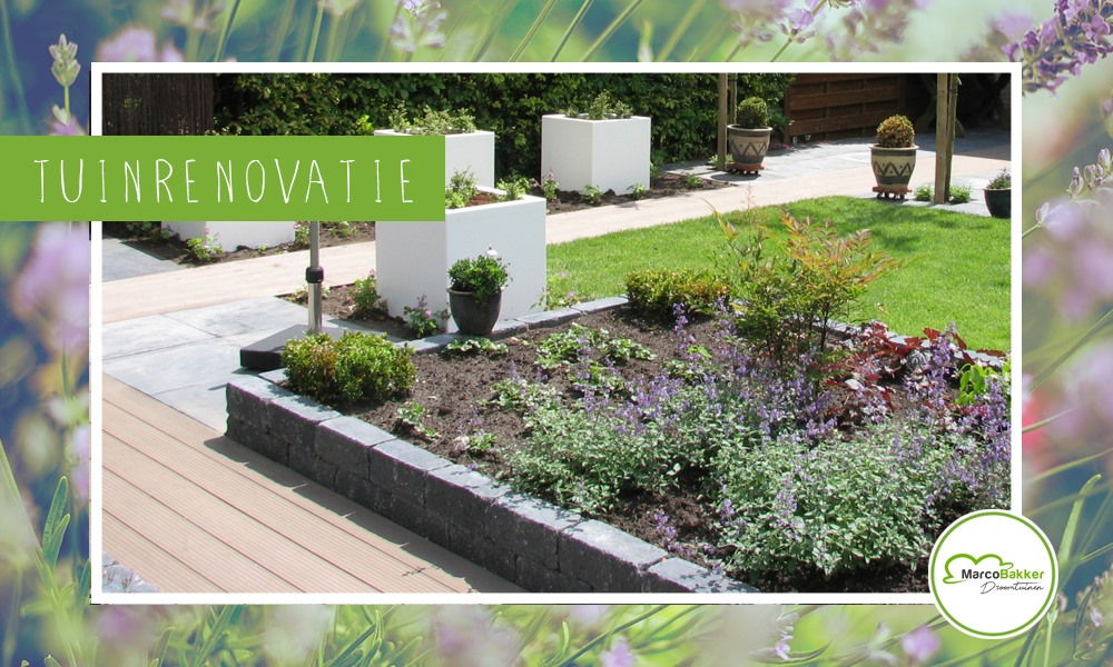 Een tuinrenovatie laten uitvoeren?