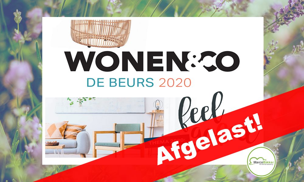 Wonen&Co 2020 is afgelast