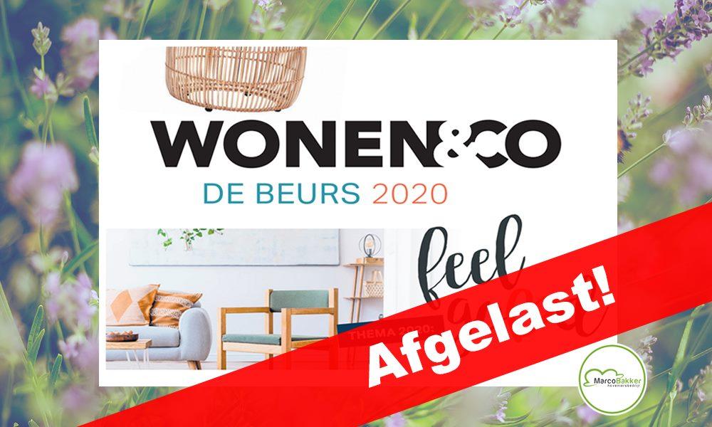 Wonen&Co 2020 is afgelast