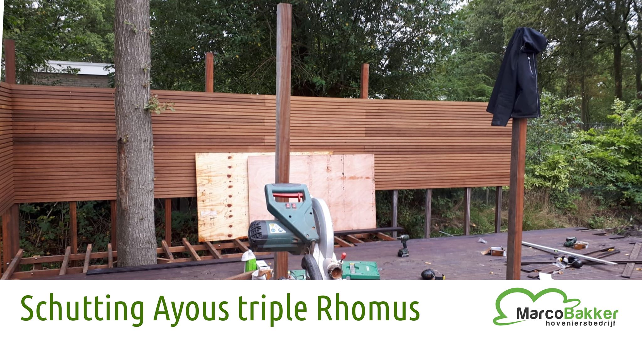 Schutting van Ayous Triple Rhombus